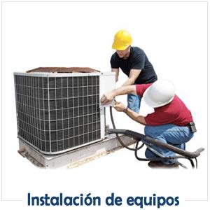 INSTALACIÓN DE EQUIPOS
